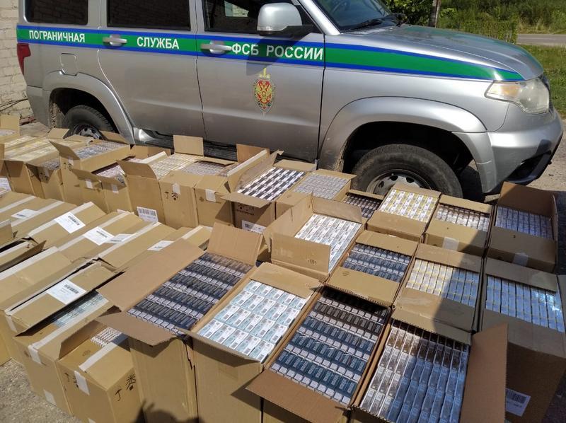 В Смоленской области изъяли 56 коробок нелегальных сигарет