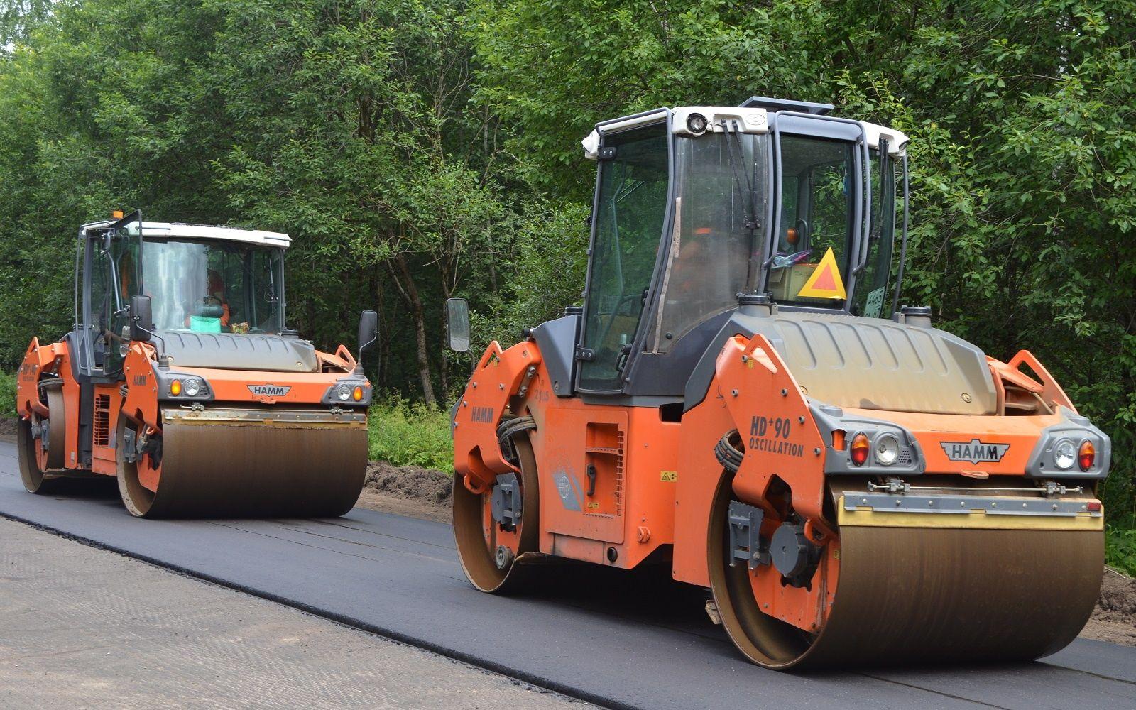147 км дорог отремонтировали в 12 районах Смоленской области
