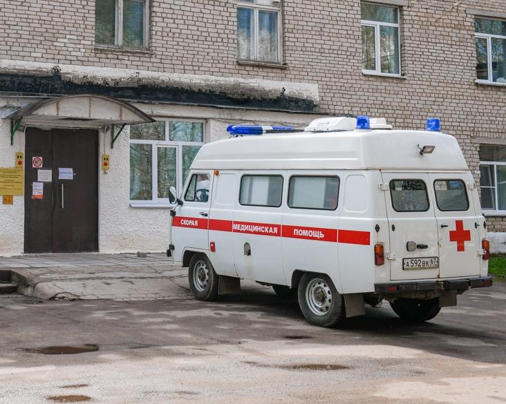 В аварии в Рославльском районе пострадали два человека