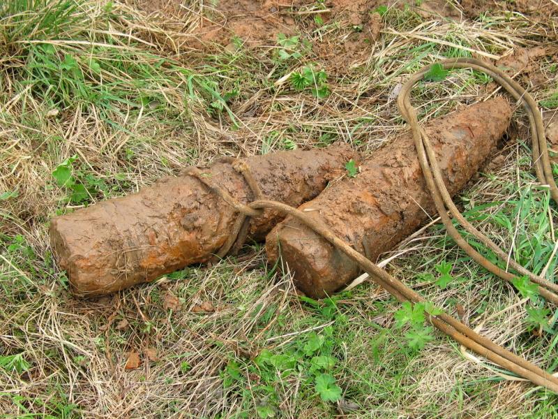 На Смоленщине нашли боеприпасы времен Великой Отечественной войны
