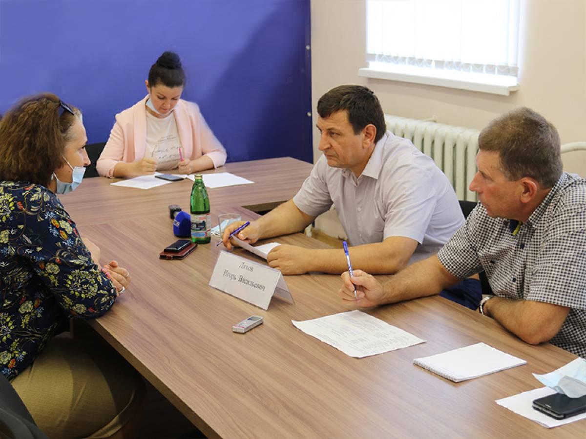О чём рославльчане просили Игоря Ляхова на личном приёме
