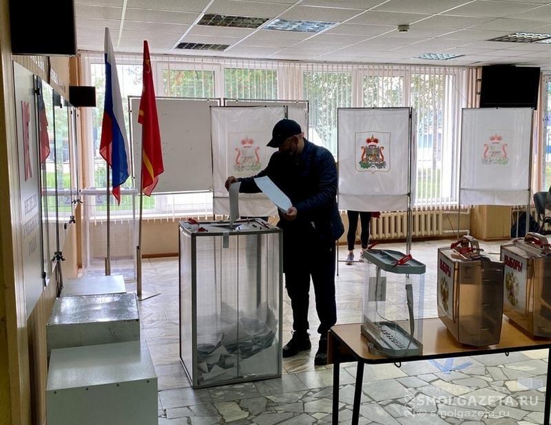 В Смоленской области к полудню 19 сентября в голосовании приняли участие 227253 избирателя
