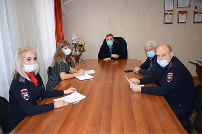 В Рославле прошло совещание по вопросам профилактики детского дорожно-транспортного травматизма